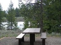 Targhee McCrea Bridge Campground