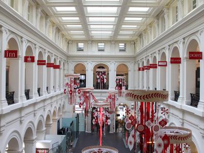 Melbourne's GPO Mall Interior