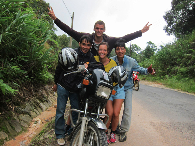 Motorcycle to Mekong Delta Photos