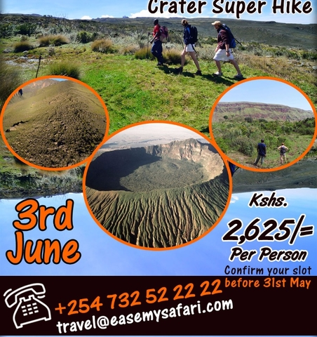 Menengai Crater Super Hike Photos