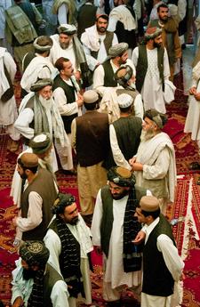 Men Wearing Traditional Afghan Dress