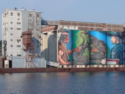 Midland Silo Mural