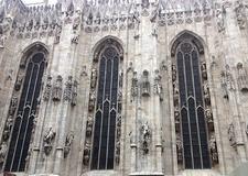 Milan Cathedral Exterior Details