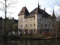 Moated Weyer Castle