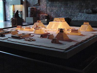 Model Of Templo Mayor