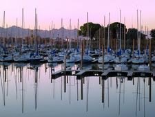 Morning At The Great Salt Lake Marina