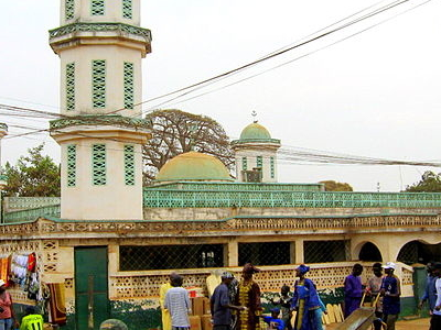 Mosque In Gambia