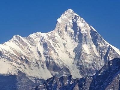 Mount Nanda Devi UT Indian Himalayas