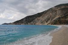 Mỳrtos Beach Kefalloniá Cloudy
