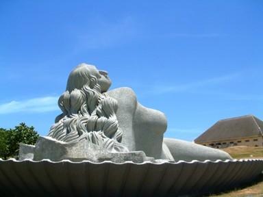 Giant Statue Of Mermaid