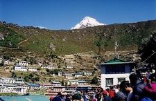 Namche Bazaar Town View - Nepal Himalayas