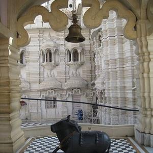 Nandi At Chhatarpur Temple