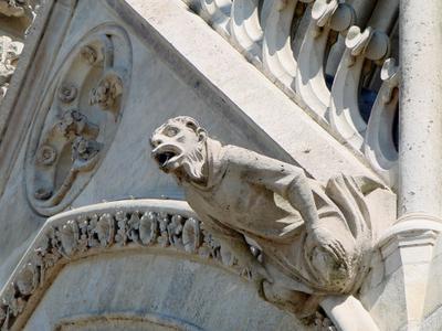 Gargoyle And Sculptural