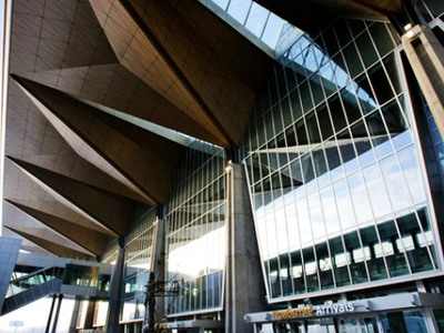New Terminal In Pulkovo Airport