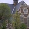 The Noorderkerk And Surrounding Noordermarkt Square