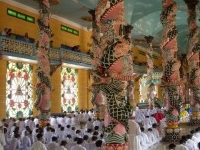 Noon Mass In Tay Ninh Holy See Temple 300x225