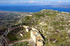 North Towards Gulf Of Corinth From Acrocorinth