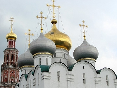 Novodevichy Convent Domes & Towers