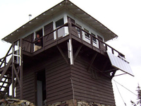 Numa Ridge Fire Lookout