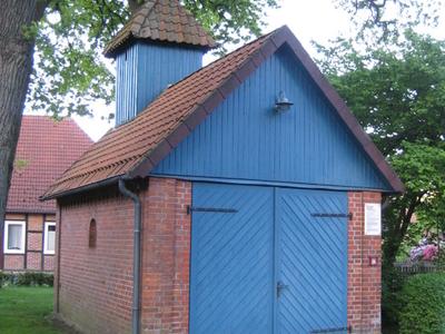Old Fire Engine House In  Becklingen