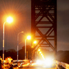 Old Thoppumpady Bridge At Night