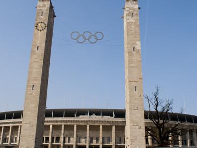 Exterior Of Olympiastadion