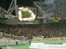 A.E.K. F.C. Match At Olympic Stadium