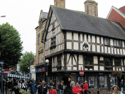 Oswestry     Historic Buildings In Town Centre