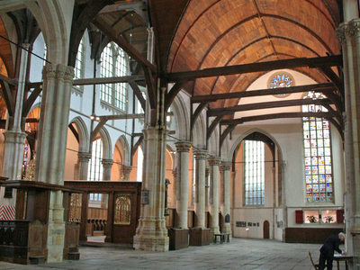 Oude Kerk, A Church With A Wooden Roof