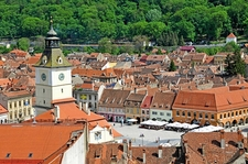 Overview Brasov Council Square