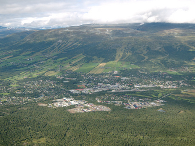 Oppdal From Almannberget