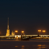 Palace Bridge And 'Peter And Paul' Fortress