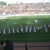 Panionios FC Playing Game In Nea Smyrni Stadium