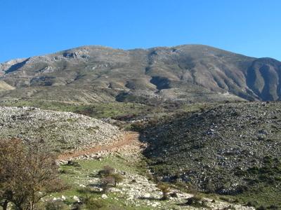 A View Of Panachaiko Mountain