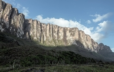 Panoramic View Of Roirama Tepui