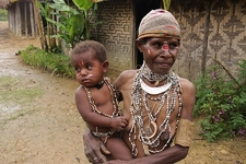 Papua New Guinea - Native Mother & Child