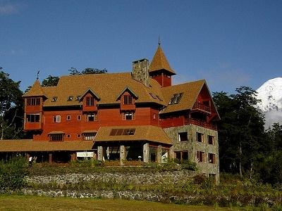 Parque National Vincente Perez Rozales In Patagonia - Osorno