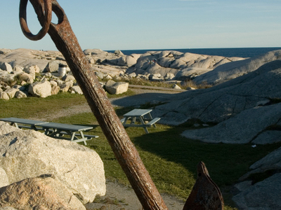 Peggys Cove Landscape
