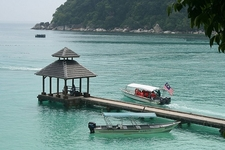 Perhentian Island Jetty From Top