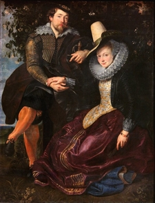 Rubens And Isabella Brant In The Honeysuckle Bower