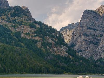 Phelps Lake Of Wyoming