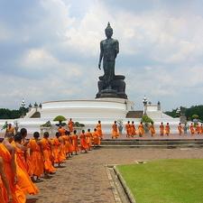 Phutthamonthon Buddha - Thailand