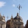 Piazza Del Popolo Of Rome