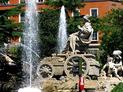 Plaza De Cibeles - Downtown Madrid