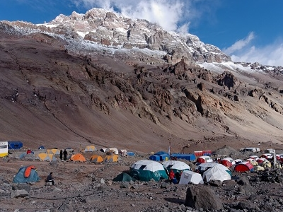 Plaza De Mulas Base Camp - Aconcagua - Argentina