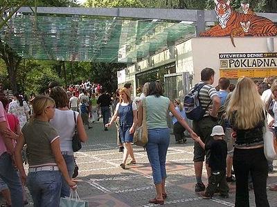 Prague Zoo Main Entrance