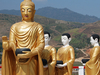 Procession Of Religious Statues - Myanmar