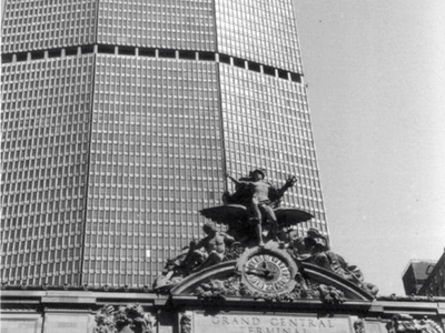 MetLife Building With Grand Central Terminal