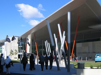 Perth Convention Exhibition Centre Entrance