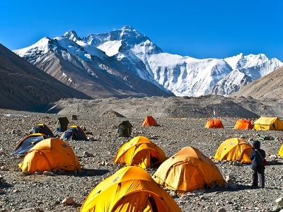 Qomolangma Base Camp